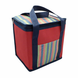 Large 12L Insulated Cooler Bag Box Picnic Camping Food Ice Cooling Drink Lunch