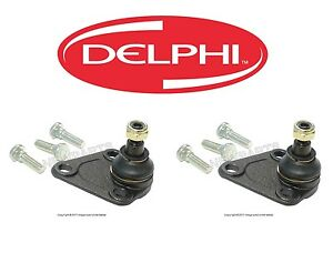 For Audi TT Quattro VW Golf R32 Pair Set of Left & Right Ball Joints Delphi NEW