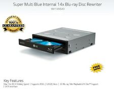 LG 14x Blu-ray Burner,3D Player BD-RE/16x DVD±RW DL SATA Drive w/ M-DISC Support