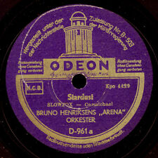 """BRUNO HENRIKSENS """"ARENA"""" ORKESTER Stardust / Candlelight and Wine  78rpm   S9114"""
