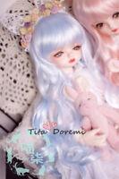 Bjd Doll Wig 1/3 8-9 Dal Pullip AOD DZ AE SD DOD LUTS Dollfie/blue Toy Hair