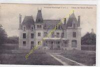 CPA 37460 VILLELOIN COULANGé Château des Genêts Façade