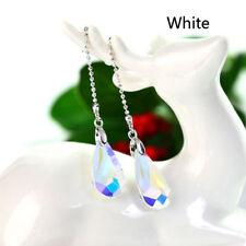 Charm Long Chain Crystal Drop Earring Women Fashion Elegant Earrings