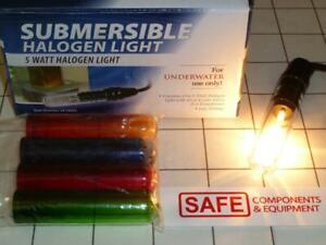 Submersible Halogen Light 5-Color Under Water 12V Transformer 8-Ft Alpine MM-155