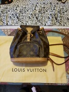Louis Vuitton Mini Montsouris Back Pack