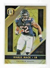 Khalil Mack 2020 Gold Standard Football #58 numbered 48/99