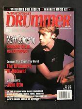 Modern Drummer Magazine July 1999 Matt Cameron