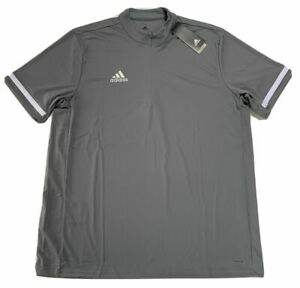 Mens Adidas Climacool Lightweight 1/4 Zip Pullover Grey DX7313 NWT