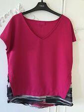 Classic Cap Sleeve Geometric Tops & Shirts NEXT for Women