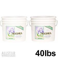Maxsea All Purpose Plant Food 40lbs 2 Lot 20 Seaweed 16-16-16 Flower Nutrients