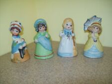 Vintage Jasco Hand Painted Merri-Bells (Set of 4)