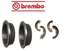 For Toyota Sienna 4/98-1/03 Brake Kit Rear Brake Drums w/ Shoes Brembo OEM