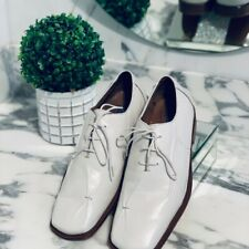 Men's Fratelli Rosetti White Leather Derby Shoes