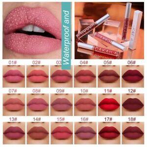 18 Colors Long Lasting Velvet Waterproof Matte Liquid Lipstick Lipstick