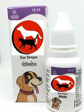 PET DOG/CAT Ear Drops - Infection Antibiotic Treatment - US Seller
