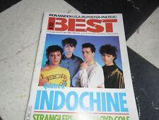 BEST  N°202/1985   INDOCHINE * STRANGLERS    FR