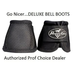 Professional's Choice Performance Deluxe Ballistic bell boots M Black Pro Prof