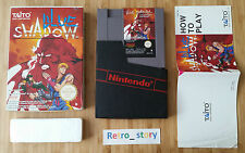 Nintendo NES Blue Shadow PAL