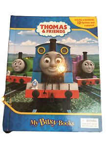 Thomas and friends Busy books with train figure and map
