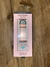 New Kate Spade Silicone Iridescent Jelly Scallop 38/40mm Band for Apple Watch