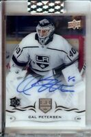 Cal Petersen 2018-19 UD Clearcut RC Rookie Autograph Los Angeles Kings #CCR-CP