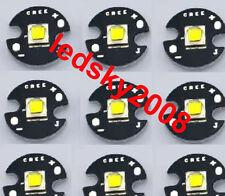 Cree XM-L2 U3 Bin 10W 3A 1260lm Cool White light LED XML2 @ 16mm Star PCB S