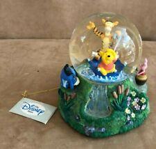 Winnie the Pooh The Rain came down Snowglobe Disney Store eeyore blustery day