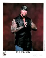 WWE UNDERTAKER P-745 OFFICIAL LICENSED AUTHENTIC ORIGINAL 8X10 PROMO PHOTO