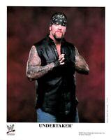 WWE UNDERTAKER P-745 OFFICIAL LICENSED AUTHENTIC ORIGINAL 8X10 PROMO PHOTO