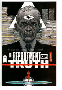 DEPARTMENT OF TRUTH #1 C (2020) - Grade NM - 1for 10 Declan Shalvey Variant!