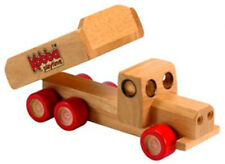 NEW Kobba Educational Classic Wooden Wood Toy Tip Truck