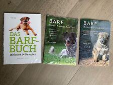 3 BARF-Bücher für eine gesunde Hunde-Ernährung
