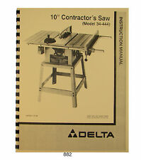 Delta Saw Parts Products For Ebay