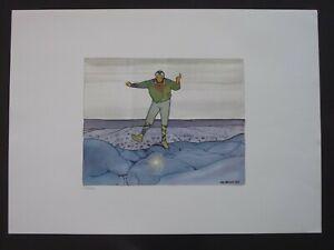 Offset 52x72cm N 200ex « TANZ / La Danse » Jean GIRAUD GIR MOEBIUS - Neuf !