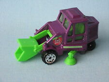 Matchbox Street Cleaner Road sweeper Purple Big Apple Toy Model Truck 75mm