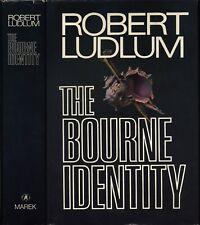 The Bourne Identity (first book Bourne series) Robert Ludlum HC 1st/1st 1980