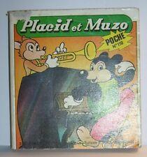 LIVRE BANDE DESSINEE BD MADE IN FRANCE ARNAL 194 PAGES PLACID MUZO POCHE N°110