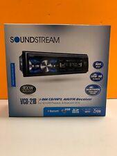 SOUNDSTREAM Single DIN Bluetooth CD Player w/ 32GB USB Playback | VCD-21B