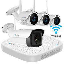 Zxtech 4 H.265 Cámara CCTV inalámbrica NVR Live N Ir HD a prueba de vandalismo 8 mm sistema H265