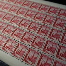 FEUILLE SHEET TUNISIE N°367 x50 KSAR EL RIBAT 1954 NEUF ** LUXE MNH