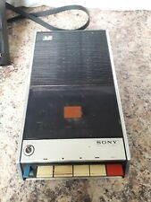 Vintage sony solid state tapecorder TC - 75 spares or repair