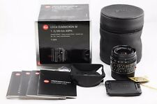 *EXC++* Leica Summicron-M ASPH 28mm f2 1:2/28 Black M6 MP M8 M9 M9P M10 6-bit