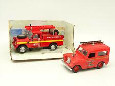 Cararama et Vitesse SB 1/43 - Lot 2 Land Rover Pompiers