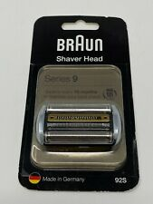 NEW Braun 92S Series 9 Replacement Shaver Head - Silver