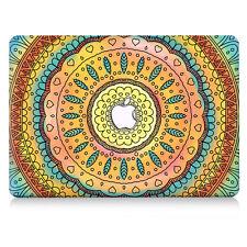 Fashion Crystal Hard Shell Case+Keyboard Skin Cover For Apple Mac Book Macbook