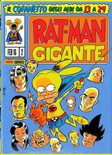 PANINI LEO ORTOLANI RAT-MAN GIGANTE COFANETTO 2 + SPECIALE RATMAN RISTAMPA