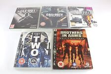 PS3 Playstation 3 Army Of Two Battlefield Bad Company 2 Call Of Duty Black Ops