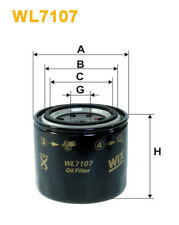 Wix WL7107 Car Oil Filter - Spin-On Replaces W7199 PH2871 AW207