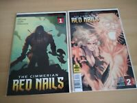 THE CIMMERIAN RED NAILS #1-2 ABLAZE 2020 BOTH COVER C VARIANTS BRAND NEW NM/MT!!