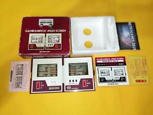NINTENDO GAME & WATCH MULTISCREEN MARIO BROS MW-56 BOXED G&W